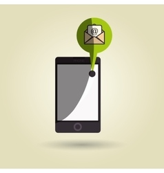 Smartphone isolated design vector