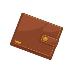 Wallets with money shopping Purse cash vector image vector image