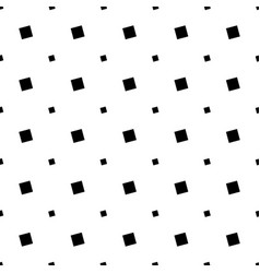 Black and white seamless abstract square pattern vector