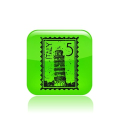 Pisa icon vector
