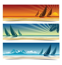 Sail boat background2 vector