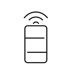 wireless mini router icon vector image vector image