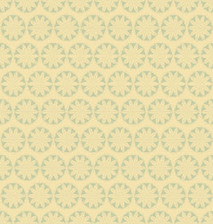 Flowers-pattern-retro-seamless vector