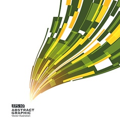 Abstract graphic sense of perspective line vector