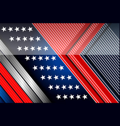 american backgrounds design template vector image