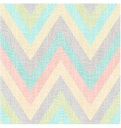 seamless pastel multi colors chevron pattern vector image vector image