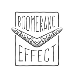 Boomerang effect vector