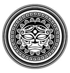 Polynesian tattoo vector