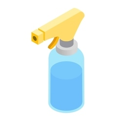 Sprayer isometric 3d icon vector