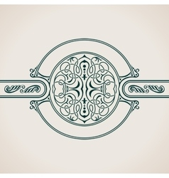 Vintage decorative elements flourishes vector