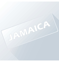 Button jamaica vector