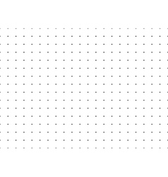 Dotted simple seamless pattern vector image vector image