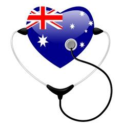 medicine australia vector image