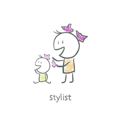 Stylist vector