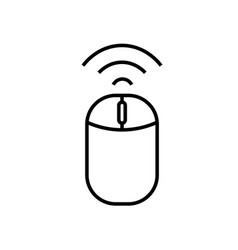 wireless icon vector image