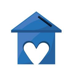 Sweet home symbol vector