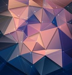 3d technology background vector