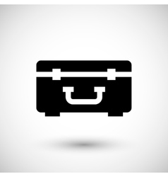 Hard case icon vector