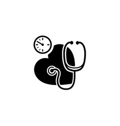 blood pressure icon flat design vector image