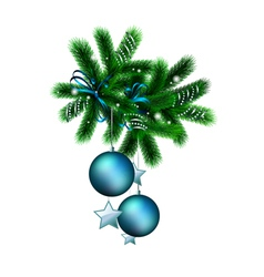 decorated branch vector image