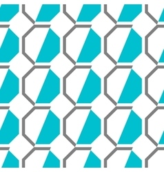 Seamless geometric pattern Decorative background vector image