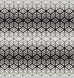 Trendy monochrome line lattice seamless vector