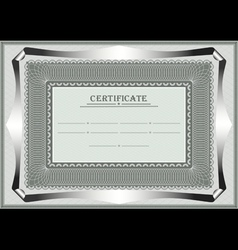 Frame for official document vector