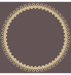 Floral modern frame vector