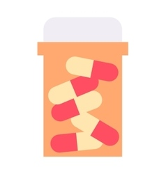 Pills isolated vector image vector image