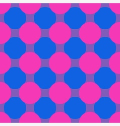 Pop art seamless background vector