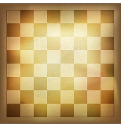 Vintage chess background vector