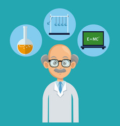 Doctor male healthy icons vector