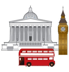 london university vector image