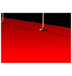 Red carpet background vector