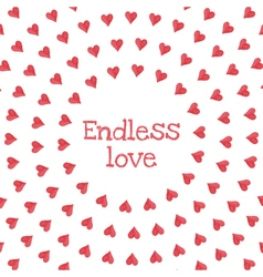 Endless love vector