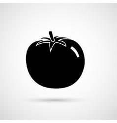 a big ripe tomato vector image vector image
