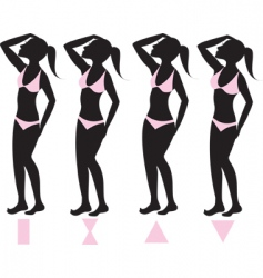 body types vector image