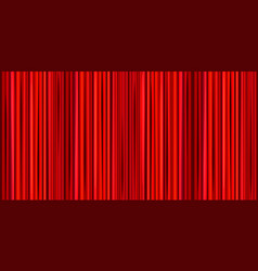 Bright red curtain theater wide background vector