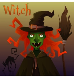 Evil Witch vector image