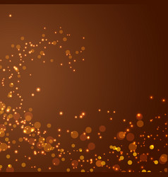 magical glittering christmas abstract background vector image vector image