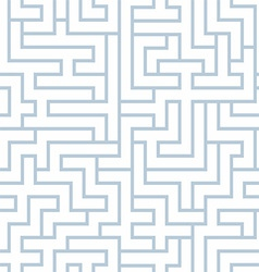 maze background vector image vector image