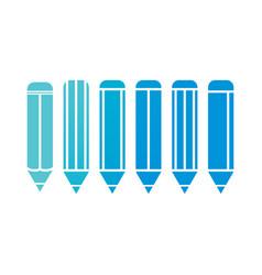 Pencil blue vector