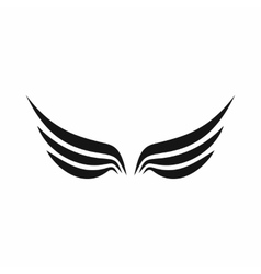 Wings icon in simple style vector image vector image