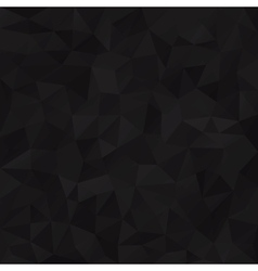 Geometric black background vector
