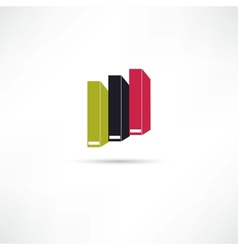 Books icon vector