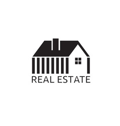 House for real estate business design vector