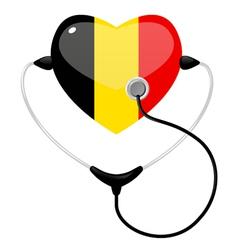 medicine belgium vector image