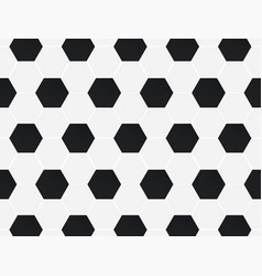 black and white football soccer background vector image