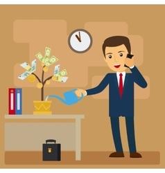 Business investment concept vector