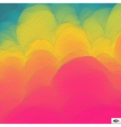 Colorful abstract geometric background mosaic vector